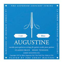 Augustine Gitarrensaiten Satz High Tension blau