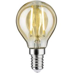 Paulmann 28525 LED EEK A++ (A++ - E) E14 Tropfenform 2W Gold (Ø x H) 45mm x 78mm 1St.