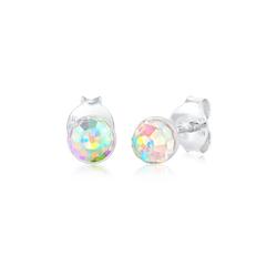 Elli Paar Ohrstecker Ohrstecker Basic Kristalle 925 Silber