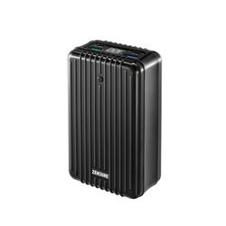 Zendure Supertank Powerbank 100W, 2 USB-C Ports, 2 USB-A Ports, Passthrough Charging, LED Akkuanzeige, handgepäcks-tauglich 27000 mAh (1 St) schwarz