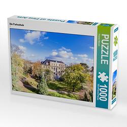 Die Parkschule Lege-Größe 64 x 48 cm Foto-Puzzle Bild von Thomas Meinert Puzzle