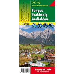 Pongau Hochkönig Saalfelden 1 : 50 000. WK 103