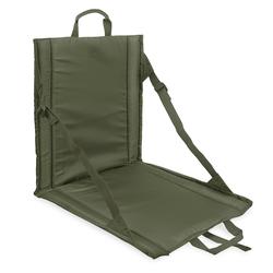bw-online-shop Faltbares Sitzkissen mit Lehne oliv