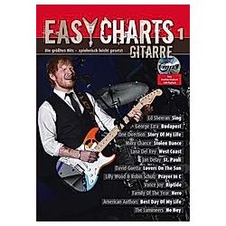 Easy Charts Gitarre  m. MP3-CD - Buch