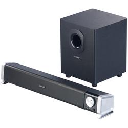 2.1-Soundbar mit externem Subwoofer für PC und TV, Bluetooth, 40 Watt