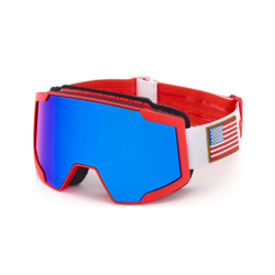 Briko - Lava 7.6 - USA - Red White - Skibrillen