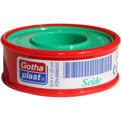 Gotha Silk Heftpfl.Seide 1,25cmx5m