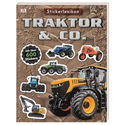 Sticker-Lexikon. Traktor & Co. als Taschenbuch von