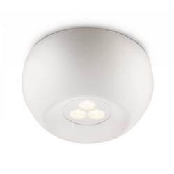 Qualitaetsware24 Deckenleuchte Philips Ledino Deckenleuchte Weiß LED Design Deckenlampe 6W Ø 12cm