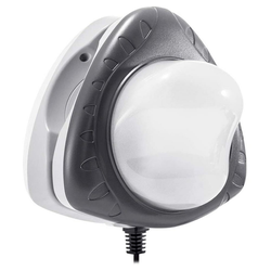 Intex Pool-Lampe Magnet LED Beleuchtung - Pool-Licht - weiß/grau