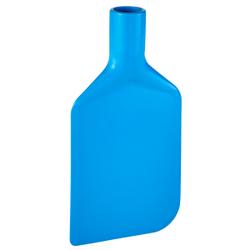 Vikan Rührlöffelblatt, 220 mm, Schaber für das Entleeren von Behältern und Töpfen, Material: Polyethylen, blau