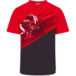 GP-Racing 93 Photographic T-Shirt, grau-rot, Größe 2XL