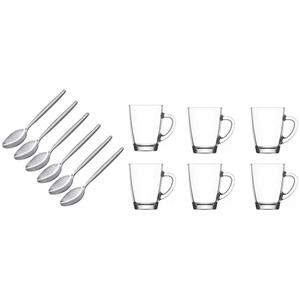 Latte Macchiato 6 Gläser - moderne hitzebeständige Kaffeegläser von James Premium®