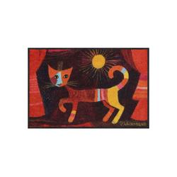 Fußmatte Rosina Wachtmeister Fußmatte waschbar by Salonloewe Rouge 50 x 75 cm, Salonloewe