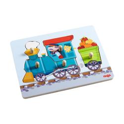 Haba Puzzle Greifpuzzle Eisenbahn, 5 Puzzleteile
