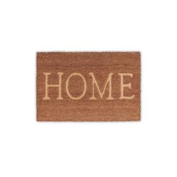 Fußmatte Fußmatte Home, relaxdays, Höhe 1.5 mm