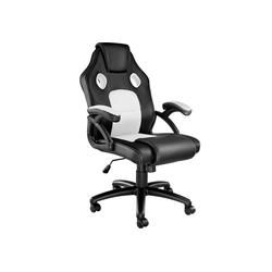 tectake Gaming-Stuhl Bürostuhl Mike schwarz