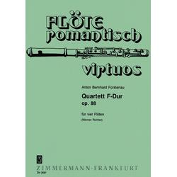 Quartett F-Dur als Buch von Anton B. Fürstenau