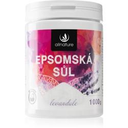 Allnature Epsomská sůl Lavender Badesalz 1000 g