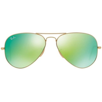 RB3025 58mm gold / green flash
