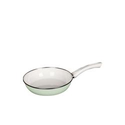 Riess Bratpfanne Ceramik Glas Pfanne GREEN, Emaille (1-tlg) Ø 24 cm x 5.5 cm