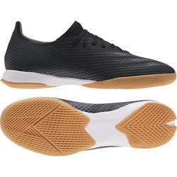 Adidas Hallenschuhe X Ghosted.3 IN - Schwarz/Weiß