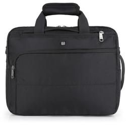 Gabol Dark Aktentasche Rucksack 40 cm Laptopfach schwarz