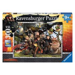 Ravensburger Puzzle Dragons: Treue Freunde, 300 Puzzleteile bunt