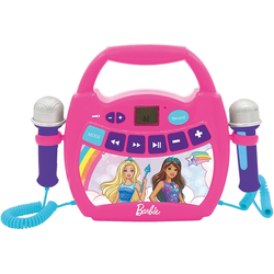 Lexibook® Barbie Mein erster digitaler Karaoke Player Stereoanlage