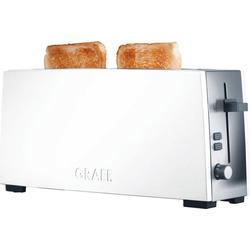 Graef Toaster TO 91, 1 langer Schlitz, 880 W, Langschlitztoaster, weiß