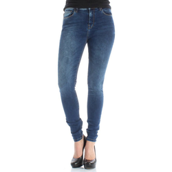 LTB Skinny-fit-Jeans LTB Damen Jeans AMY Ikeda Wash Dunkelblau