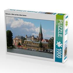 Schwerin - Blick auf den Alten Garten Lege-Größe 64 x 48 cm Foto-Puzzle Bild von Markus Rein Puzzle