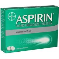 BAYER ASPIRIN 500 mg überzogene Tabletten