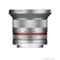 Samyang 12mm F2,0 NCS CS Sony E silber