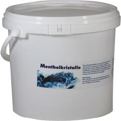 Mentholkristalle für die Sauna, Überzeugen Sie sich von der Qualität!, 1000 g - Dose