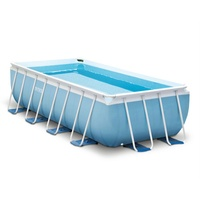 Intex Prism Frame Pool Set 488 x 244 x 107 cm inkl. Filterpumpe