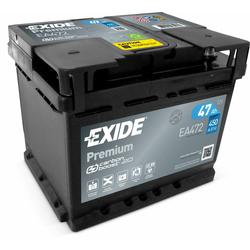 Exide EA472 Premium Carbon Boost 47Ah Autobatterie