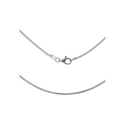 Bella Carina Silberkette Silberkette Schlangenkette 1,3 mm 925 Silber, 925 Sterling Silber 60 cm