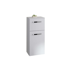 Pelipal Highboard Focus 4010 in weiß Hochglanz