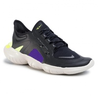 Nike Free RN 5.0 M black metallic/silver/voltage purple 45