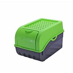 BigDean Kartoffelkiste Kartoffelbox Gemüsebox für ca. 5 kg 29 x 19 x 18,5 cm Zwiebeltopf Aufbewahrung Vorratsbox