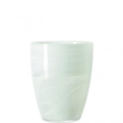 Windlicht ALABASTRO weiß(H 19 cm)
