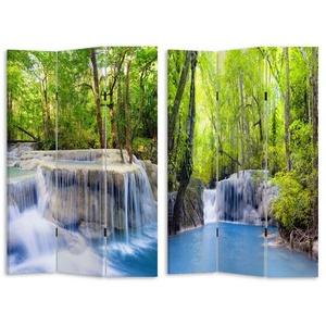 HTI-Line Paravent Paravent Wasserfall, Nur für den Innenbereich geeignet
