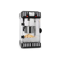 Klarstein Popcornmaschine Volcano Popcornmaschine 300W Rührwerk Edelstahl-Topf