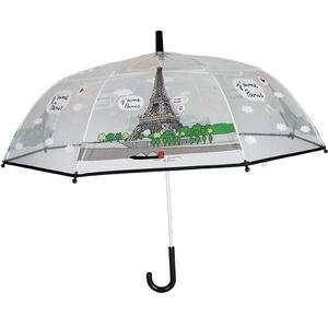 Paris UMBRELLA Regenschirm 76 Centimeters Transparent