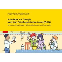 Materialien zur Therapie nach dem Patholinguistischen Ansatz (PLAN): Buch von Katrin Riederer/ Catherine Hädrich/ Jeannine Schwytay