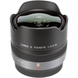 Panasonic Lumix G 3,5/8 Fisheye Fish-Eye-Objektiv f/22 - 3.5 8mm