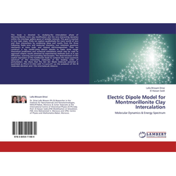 Electric Dipole Model for Montmorillonite Clay Intercalation als Buch von Lalla Btissam Drissi/ El Hassan Saidi