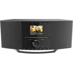 Hama DIR3510SCBTX Internet Tischradio Internet, DAB+ Internetradio, DAB+, CD, Bluetooth®, WLAN Schw