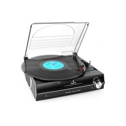 Auna 928 Plattenspieler integrierte Lautsprecher 33 45 RPM Plattenspieler schwarz